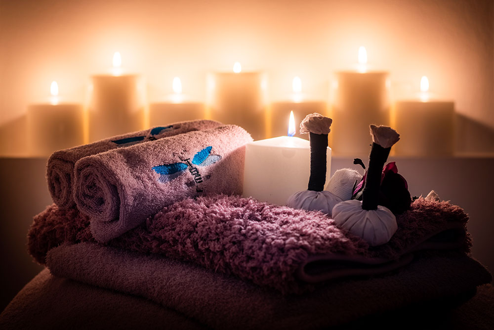 Particolare candele